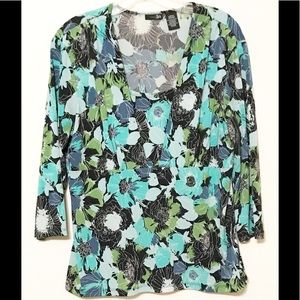 East 5th Multicolored Blouse Size L